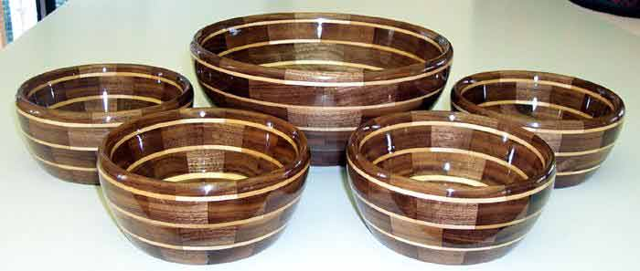 Segmented Bowl Patterns