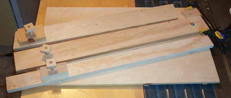 Finished Acumiter Table Saw Sled/Jig