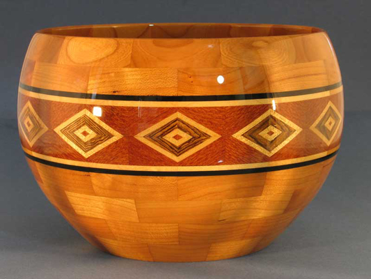 Evil Eye - Segmented Salad Bowl