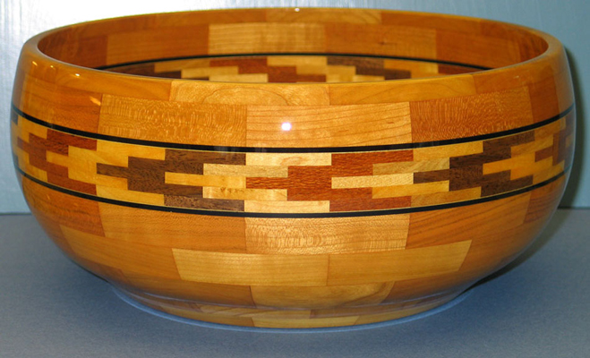 Moving On - Segmented Bowl