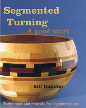 All about designing, building, and turning segmented projects; Click for Segmented Turning book details