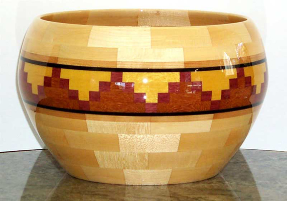 Mountains - Segmented Salad Bowl