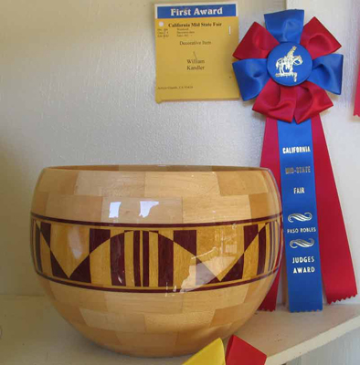 Sequences - Segmented Salad Bowl - 2005 Mid State Fare