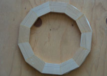 Example of perfect segmented ring miters