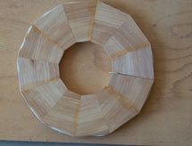 A not-so-good segmented ring miter angle