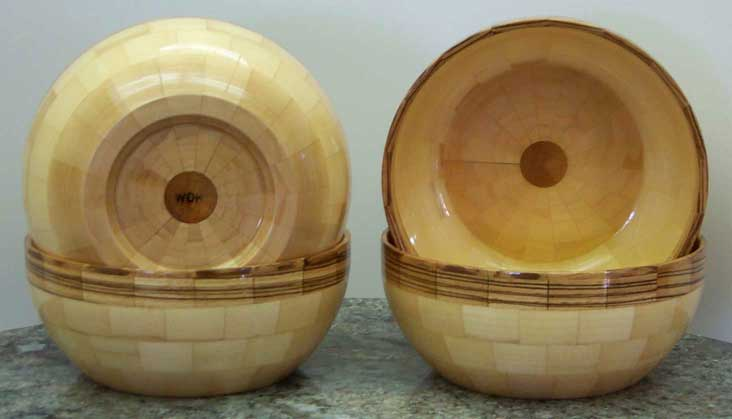 6 in. Segmented Hemisphere Bowl